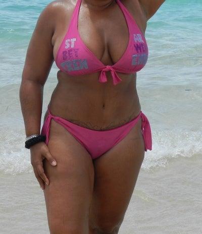 alena nude beach volleyball