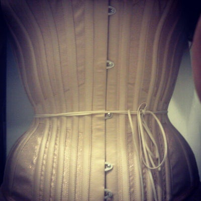 My glorious custom corset by LovesickCorrectiveApparel.com from before