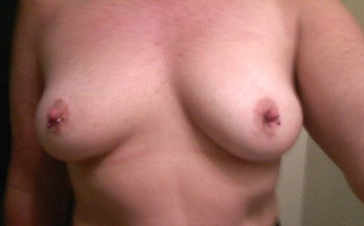 Husband growing breasts