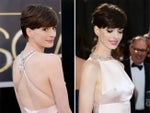 Last night Anne Hathaway showed off some serious sideboob, what do you guys think of the new side cleavage trend?