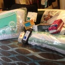 GETTING ORGANIZED FOR WEDNESDAY. PILLOWS, NEOSPORIN,BIO SILK, GRANNY PANTIES, PEROXIDE, GAUZE, MEDICATIONS. SO FAR LOL