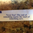 My fortune cookie yesterday!!!!
