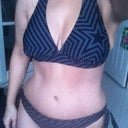 9 wks post op, old bikini from my before pic on the new body
