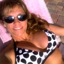 Poolside with my new smaller, but in the right place breasts!