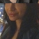 notice my smile is more defined in the first pic - it's more flat in the second pic - less definition. My eyes are more hollow now too since everything is hanging lower now.