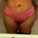 Before pic dont like this at all I want much more projection in my hips I have no hips what so ever that is sad.