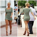 Inspiration Pic: I love Amber Rose's body in this pic. Healthy, natural and curvy