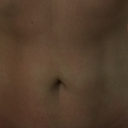 It looks to be centered around my belly button.