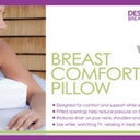 Good idea for breast support during bbl. Hate sleeping on my stomach. My nipples be all sore lol.