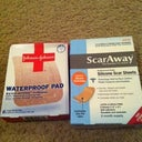 Scar Away and Waterproof Bandaids