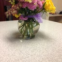 Flowers from the doctor and staff!