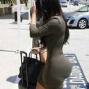 How my side should look, I love her curves flat stomach ROUND ASS