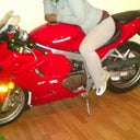 Me and my baby..Can't wait to ride this summer with all my booooootay!!!
