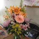 flowers from my doctor!!!!