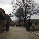 "The sinister deceiving sign entering Auschwitz which reads ""Work gives freedom"", providing such false hope to all who entered."