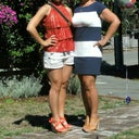 What I looked like 6-mos after my tummy tuck, standing next to my 27yo daughter we are nearly the same size