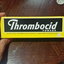 Thrombocid Cream! Good for bruises