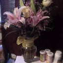 Flowers waiting for me when I got home! From my daughter and husband! How sweet...meds, too