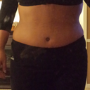 I've never ever had a flat tummy... looking forward to my final results!