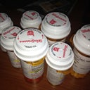 The sea of meds i was prescribed. Some only have 2 pills though