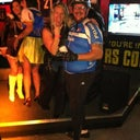Biker couple wins the costume contest!