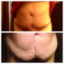Here is my before 12/5/2012 and my 1 month picture 1/6/2013