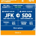 Jet blue app 17 weeks !!