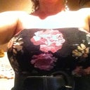 Strapless dress ! Feeling boobylicious :) hubby says I'm Hot! Lol