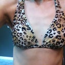 New swimsuit I just bought. Size medium top. Hoping it soon fits!!!
