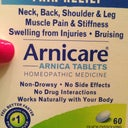 Arnica pills started in day 5 PO