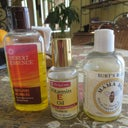Natural oils to massage on boobs post BR with doctor's approval, which includes Jojoba, Vitamin E, and Burts natural oils (including Vitamin E, Jojoba, Lemon oil etc)