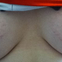 Front view with stretchmarks. (Wonky due to holding camera.)