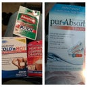 Heat Packs (dollar store)....PurAbsorb ($20)