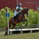 That's alot of weight he is carrying over that jump! :( I was so unbalanced in the saddle and uncomfortable back then. I felt horrible about myself and everything was a struggle.