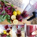Beets & Lemons, great cleanser and energizer!