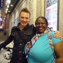 Ben Daniels and me in NYC
