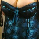 This is the only picture i have to give a general idea. i know it's a corset but it's not tied tight at this time since i was just trying it on.