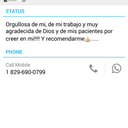 This is zara whatsapp if you don't speak Spanish use google translator.