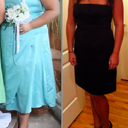 -100 lbs, before and after