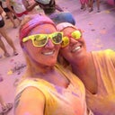Color Run this past summer- I love getting dirty!! :)