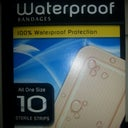 waterproof  bandages  for less than $2 at HEB