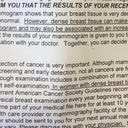 "Mammogram result comes back ""normal"", but ""dense"" ????"