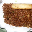 wack chinese rice..smh..refried too many times.