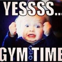 This was me when the doctor told me I could work out again!! No joke! Lol