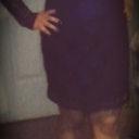 back in new years thats how I was in dresses looked prego