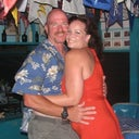 This was four months before my surgery on our trip to the Bahamas, I used to call it my budda belly.  It was on th