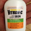 My iron pills with vitamin C