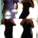 same dress 3weeks no garment. my bed was VERY junky. clothes everywere sorry