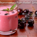 Anti-inflammatory Pain Relief Smoothie is you want to try it :) make sure everything is organic if possible.