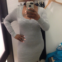Shopping and was seriously holding the gut it and had spanks on! Im 35 5'6 175 lbs.
